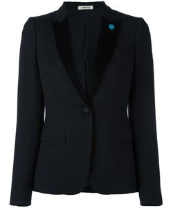 Lardini | Two Button Blazer 38 Cotton/Acetate/Wool/Pbt Elite