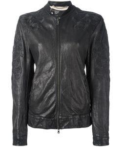 Pihakapi | Zipped Leather Jacket Small Lamb Skin/Viscose