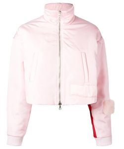 Caitlin Price | Funnel Neck Cropped Jacket Small Polyester