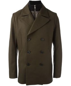 Theory | Double Breasted Coat Large Nylon/Polyamide/Polyester/Virgin Wool