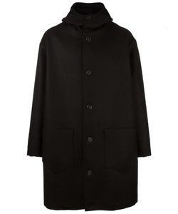Cini | Oversized Single Breasted Coat Virgin Wool