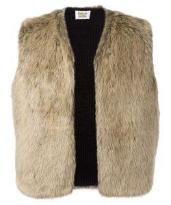 WALTER VAN BEIRENDONCK VINTAGE | Wild Lethal Trash Faux Fur Gilet