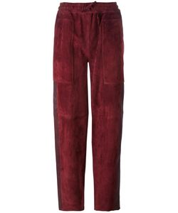 Joseph | Relaxed Fit Straight Trousers 40 Lamb Skin