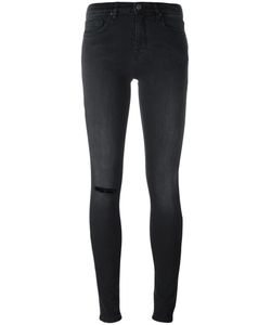 Victoria, Victoria Beckham | Victoria Victoria Beckham Distressed Skinny Jeans 28 Cotton/Polyester/Spandex/Elastane