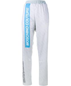 Moschino | Pill Packet Track Pants Small Polyester
