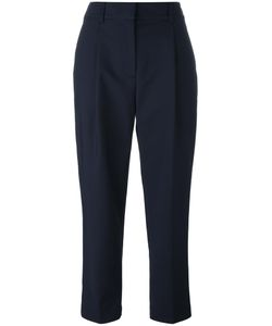 3.1 Phillip Lim | Cropped Tapered Trousers 4 Cotton/Polyamide/Spandex/Elastane