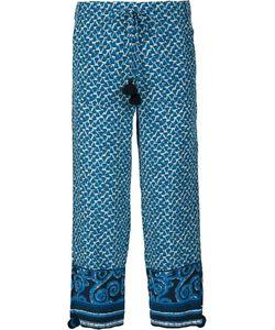 FIGUE | Fiore Cropped Trousers Medium Silk