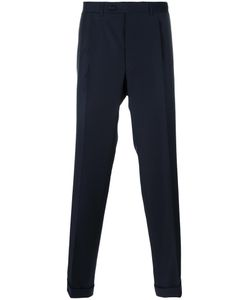Canali | Straight Leg Trousers 52 Wool