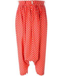Comme Des Garcons | Comme Des Garçons Vintage Polka Dot Harem Trousers Small