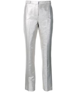 Bianca Spender | Slim Fit Tailored Trousers 8 Silk/