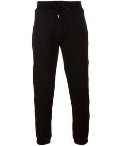 Kenzo | Pinstriped Track Pants Xl Cotton/Polyester