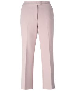 MSGM | Cropped Tailored Trousers 44 Polyester/Spandex/Elastane/Viscose