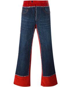 JEAN PAUL GAULTIER VINTAGE | Corduroy Denim Trousers 48