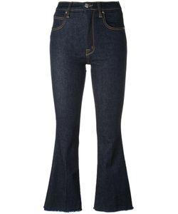 +people | Ingrid Cropped Jeans 31 Cotton/Polyester/Spandex/Elastane