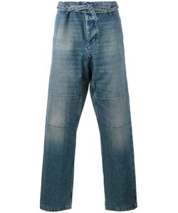 Valentino | Loose-Fit Checked Jeans 46 Cotton/Polyester