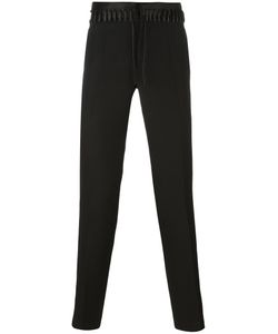 Haider Ackermann | Lace-Up Detail Trousers 48 Silk/Cotton/Virgin Wool