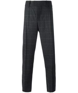 Neil Barrett | Checked Tailored Trousers 48 Polyamide/Spandex/Elastane/Virgin Wool