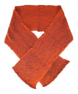 Issey Miyake   Pleated Scarf Silk/Polyester/Polyurethane