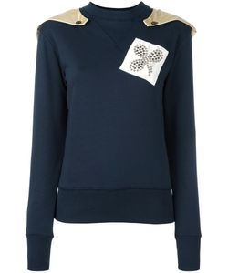 J.W. Anderson | J.W.Anderson Shoulder Patch Sweatshirt Small Cotton