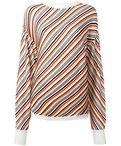 AALTO | Diagonal Stripe Jumper 36 Wool