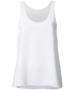 Bianca Spender | Point Crepe Tank Top 10 Polyester/Acetate