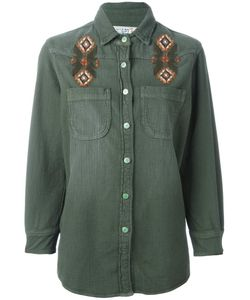 Sandrine Rose | Embroidered Shirt Medium Cotton