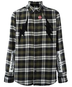 SOLD OUT FRVR | Checked Shirt Large Cotton/Acrylic/Polyamide/Polyester