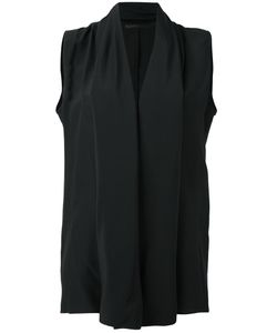Haider Ackermann | V-Neck Blouse 34 Silk