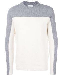 Norse Projects | Colour Block Jumper Small Cotton/Polyamide/Spandex/Elastane/Wool