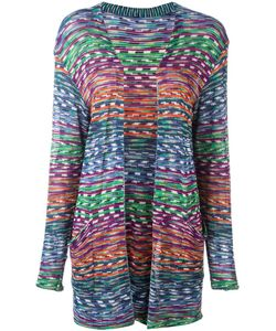 MISSONI VINTAGE | Open Front Knitted Cardigan 40