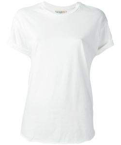 Sandrine Rose | Embroidered Sleeve T-Shirt Xs Cotton