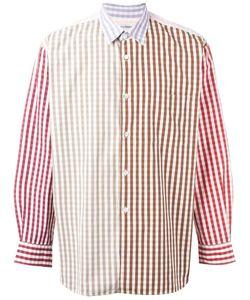 Comme Des Garcons   Comme Des Garçons Vintage Gingham Check Shirt Medium