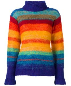 KANSAI YAMAMOTO VINTAGE | Rainbow Knit Jumper Medium