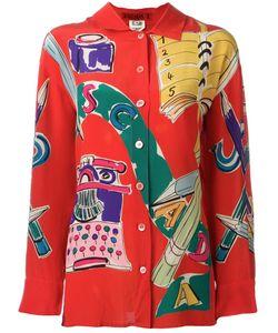 ESCADA VINTAGE | Pop Print Shirt 36