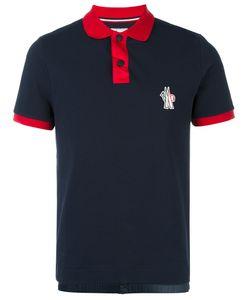 Moncler Grenoble | Contrast Collar Polo Shirt Xxl Cotton/Polyamide