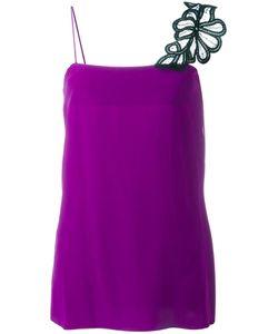 Victoria Beckham | Lace Strap Cami Top 12 Silk/Cotton