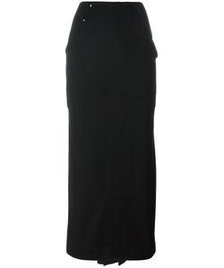 CLAUDE MONTANA VINTAGE | Maxi Button Detail Skirt 40