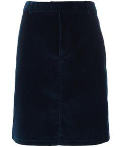 A.P.C.   Straight Short Skirt 38 Cotton/Spandex/Elastane