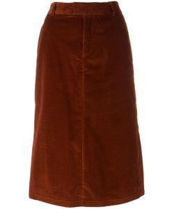 A.P.C.   Constance Jupe Skirt 34 Cotton/Spandex/Elastane