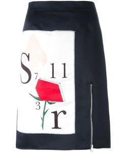 Au Jour Le Jour | Front Print Skirt 42