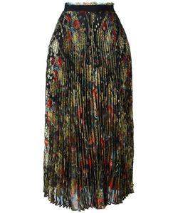 Roberto Cavalli | Runway Skirt 42 Silk/Polyester