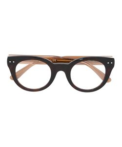 Bottega Veneta Eyewear | Thick Frame Glasses Acetate