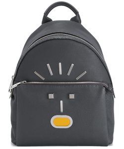 Fendi | Faces Backpack Calf Leather/Nylon/Brass