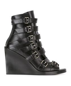 Ann Demeulemeester | Buckled Straps Boots 37 Leather