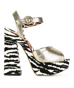 Charlotte Olympia | Wild At Heart Sandals 39 Leather