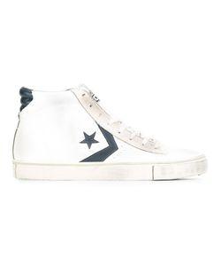 Converse | Pro Leather Vulc Mid Sneakers 45 Cotton/Calf