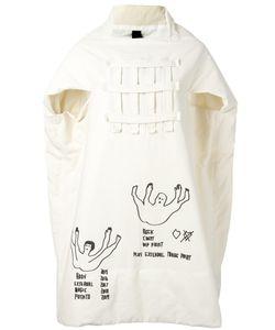 Bernhard Willhelm   Graphic Print Oversized Dress Medium Cotton/Polyester