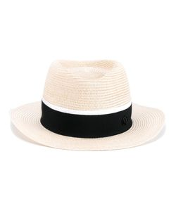 Maison Michel | Andre Straw Hat Small Cotton/Straw