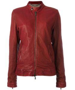 Pihakapi | Band Collar Jacket Medium Lamb Skin/Viscose