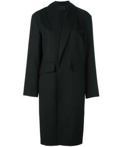 Alexander Wang | Shawl Collar Coat Medium Spandex/Elastane/Virgin Wool